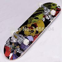 Wholesale Cheapest Colorful Skateboard Complete Double Rocker skate