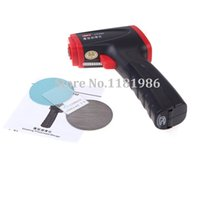 Wholesale Sets LCD Display Car Paint Coating Thickness Gauge Meter Ultrasonic Thickness Tester Instruments Micron UNI T UT342
