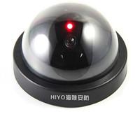Wholesale Indoor Fake Surveillance Camera Simulation Security Dome Camera Hemisphere Corridor Passage Monitor With LED Light