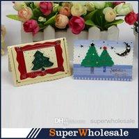 christmas cards - 120pcs Christmas Cards Greeting Cards Gift Card Creative Christmas Greeting Card