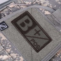 ab positive - New Brand D Military Woodland Blood Type Patch B A AB O Positive Hook NEG Coyote Tan Embroidery Cloth Standard Armbands