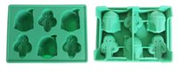Wholesale Hot sale Kitchen Gadgets New arrival Silicone Star Wars Ice Cube Tray Ice Chocolate cake Mold Falcon Storm Trooper Darth Vade