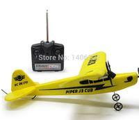 air brush motor - Newest arrival Sea gull EPP HL803 RTF air plane Rc plane PIPER J3 CUB NC26170 RC Airplane WL801 upgrade Fast shipping order lt no track