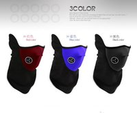 Wholesale Motorcycle Bicyle Bike Fleece Face Mask Sports Dust Winter Warm Hats Cap Ski Snowboard Wind Hood Thermal Balaclavas Scarf