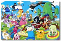 adventure movie posters - Adventure Time with Finn and Jake Classic Fashion Movie Style Custom Poster Print Size x60 cm Wall Sticker U2312