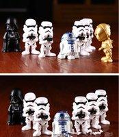 Wholesale 50SET HHA462 Star Wars Darth Vader R2D2 stormtooper a kids toys Gifts for fans Star wars action figures
