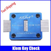 auto association - Klom Key Check Keyway Check Keys Duplication Association Tools key cutter klom locksmith tools fast shipping