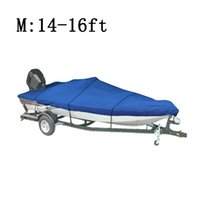 Wholesale WaterProof D Speedboat Fishing Camping Boat Car Covers ft Beam quot Trailerable Fish Ski V Hull UV Protected