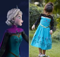 Animal Men Costumes autumn winter style frozen princess anna dress cosplay dress character costume kids childern birthday party anime cosplays