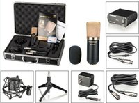 professional karaoke system - Top Quality takstar PC K550 condenser Microphone System Professional Karaoke recording microphone set by DHL
