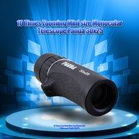 Wholesale Portable Mini x25 Outdoor Monocular Telescopio BAK4 x Optical Len Zoom Magnification HD Spy Telescope Low Price On Sale