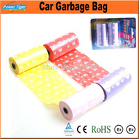 Wholesale 2 roll Pack High Quality Multi Color Rubbish Trash Garbage Bags Thick Eco friendly roll Thickening For Car and Home