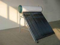 Tres tubos de calor de tubería objetivo del calentador solar de agua caliente, calentadores a presión colector de energía solar domésticos, productos solares sistema