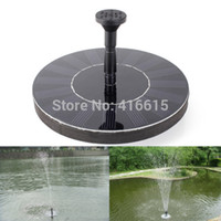 Wholesale New High Quality V Floating Water Pump Solar Panel Garden Plants Watering Power Fountain Pool Garden Decoration