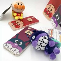 backpack iphone case - 3D Cute Fashion Lovely Cartoon backpack toy Bread Red Beans Superman TPU case Newest Bread Anpanman for iphone s plus Case
