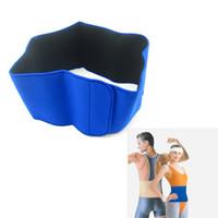 neoprene waist belt - New Neoprene Waist Support Protector Belt Waist Brace Strap Band Pain Relief Blue H14518