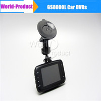 Wholesale In stock GS8000L Novatek quot fps Car DVR Vehicle HD P Camera Video Recorder Night Vision Dash Cam DVR hot sell C