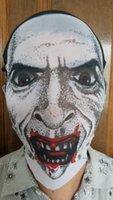 Wholesale Headgear headwear headdress zombie mask Distinctive Styles Halloween Mask Full Face Skull for Party band
