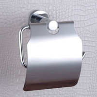 paper plate holders - CLOUD POWER Paper Towel Box Stainless or Chrome plated brass Roll Holder Wall Mounted Toilet Paper Holders