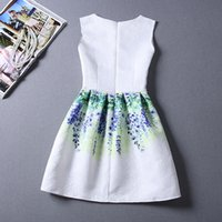best digital printing - 2015 Girls Best Sale Summer casual dresses for women New Fashion Floral digital Printing Vest Dress Lady cheap dresses