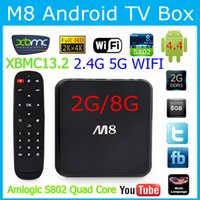 Cheap Quad Core M8 Smart Android Best Included 1080P (Full-HD) M8 TV BOX