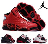 Cheap Nike dan 13 Retro 13 AJ13 dan 13 XIII Oreo Allen Red leather Mens J13s jordan Basketball Shoes,Original Sports shoes Sneakers 41-47
