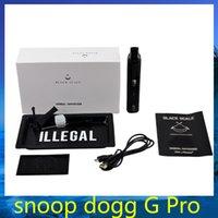 Snoop Dogg g de proteínas Negro Escala G Pro joya de hierbas secas de hierbas vaporizador Starter Kit cigarrillo electrónico VS Bob Marley camo DGK G pro 0211196 -3