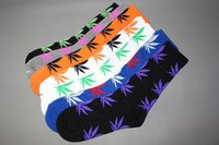 cannabis - 300pairs fashion Street hiphop socks for men hipop Weeds socks for boy Cotton Socks Plantlife Cannabis Weed Leaf socks