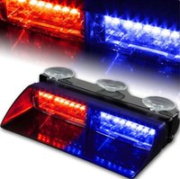 Precio de Emergency light-S2 Viper Federal de alta potencia de la señal 16pcs Led Car Strobe Light Auto Advertir Luz Policía ligeros del LED Luces de Emergencia 12V del coche delantero luz de la lámpara de coches