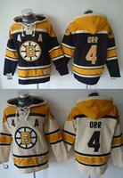 beige cotton sweater - Factory Outlet Men s Boston Bruins Pullover Hoodie Orr Ice Hockey Hoodie Sweater