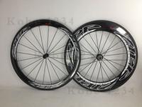 zipp - Zipp mm Red Eagle logo carbon road wheelset bicycle bike clincher Tubular carbon wheels with Noavtec hub