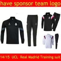 chelsea - Whosales UEFA Champions League Madrid soccer training suit Chelsea tracksuit AC Milan Dortmund Arsenals Long sleeve Free Shippinng