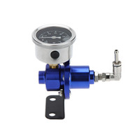 Wholesale Professional High Performance Adjustable Fuel Pressure Regulator with Filled Oil Original Gauge for Car Auto