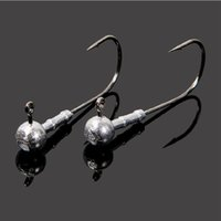 Wholesale FISHING LURES LEAD HEAD JIGS HOOKS