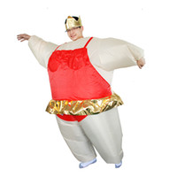 adult ballerina halloween costumes - Ballerina Inflatable Costume Adult Fancy Dress Suit Party Halloween Christmas Xmas Gift