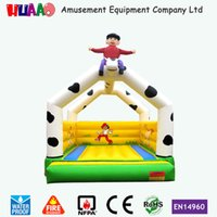 Inflatable Toys inflatable bouncer - 2015 home used cows inflatable mini bouncer for children