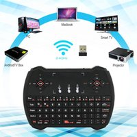 Cheap R6 V6A i28-1 K28-1 Rii Upgrade Mini Wireless English Keyboard Backlit Backlight 2.4GHz Keyboard Remote Control Touchpad For Android TV Box