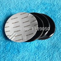 Wholesale Blue and White Epoxy New set mm Car Tyre Wheel Center Hub Cap Sticker Emblem Badge Decal Fit For B V VV