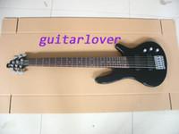 Custom Shop 6 Cuerdas Bajo Guitarra eléctrica Bajo eléctrico de una pieza Guitarras al por mayor