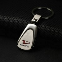 daihatsu parts - Daihatsu Car Keychain Emblems For All Daihatsu Car Silver Keyrings Car Key Part Pendant Metal Rendy Fashion Gift Holder