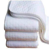 Wholesale 2014 New Cotton practical Soft Cloth Diaper Inserts Nappies Comfortable Reusable Baby Diapers