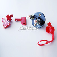 battery disconnect switch key - Addmotor Battery Disconnect Kill Cut Off Switch Brass Terminals Difference Keys Truck