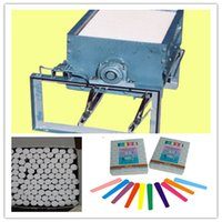 Wholesale Energy saving school chalk pieces making machines tailor chalk making machine dustless school chalk making machine Chalk machine