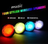 audio light switch - Color Ball Wireless Bluetooth Speaker With LED Light Magic Crystal Speaker With Remote Control Audio Player Christmas Decoration