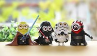 Wholesale new Resin Despicable Me Minions Star Wars Garage kit Collector s Edition furnishing articles Car decoration