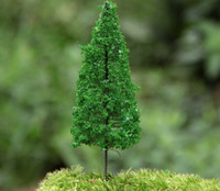 artificial pines - artificial pine tree miniatures pink cute plants fairy garden gnome moss terrarium decor crafts bonsai bottle garden p006