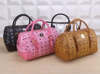 Wholesale 2015 new fashion classic women mcm handbag shoulder bag Bucket bag