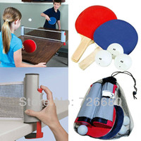 Wholesale Christmas Gifts Indoor and Outdoor cm portable Ping Pong Table Tennis scalable net Rack