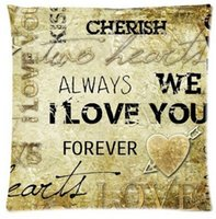 arrow covers - Custom Cushion Pillowcases Arrow Through Heart I Will Always Love You Forever Quote Amazing Lovable Pillow Covers