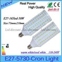 Wholesale 50W led SMD Led Bulbs Light Corn Lamp E27 E26 E14 B22 Led Lights Warm Cool White AC V Years Warranty